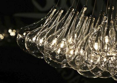 Lampe - Hängeleuchte - Designerlampe - Glaslampe - Leuchte