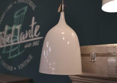 Lampe - Hängeleuchte - Designerlampe - Hängelampe - weiß