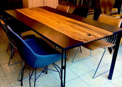 Möbeltante - Tisch - Vintage - Eiche